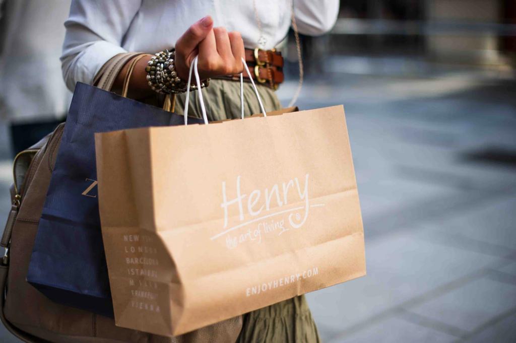 Henryの紙バッグ