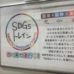 SDGsトレイン広告
