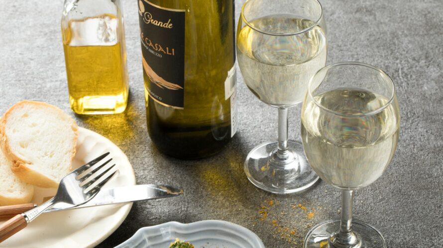 白ワインがある食卓